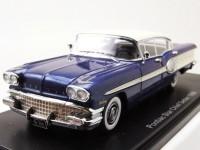 1:43 PONTIAC Star Chief Sedan (4 двери) 1958 Metallic Blue/White