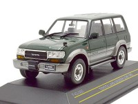 1:43 TOYOTA LAND CRUISER (LC80) 4х4  Japan 1992 Metallic Dark Green/Silver