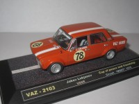 "1:43 VAZ-2103 Jacov Lukjanov Cup of peace and friendship Circuit ""MOST"" 1975"