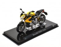 1:24 мотоцикл BENELLI TNT 1130 Yellow