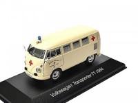"""1:43 VW T1 Transporter """"Ambulance"""" (немецкий Красный крест) 1964"""