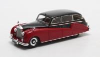 1:43 ROLLS-ROYCE Silver Wraith Limousine Freestone & Webb #FLW26 1957 Maroon/Black