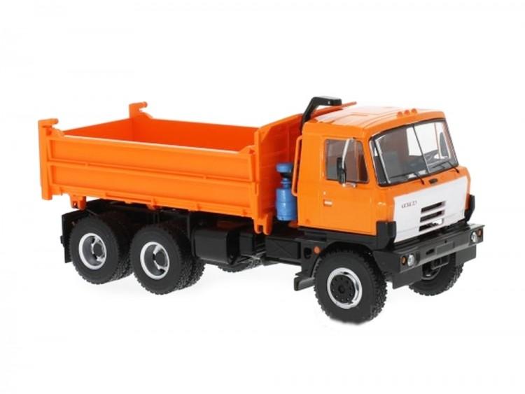 1:43 Tatra 815S3 самосвал c трёхсторонней разгрузкой 1984 Orange