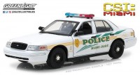 "1:18 FORD Crown Victoria Police Interceptor ""Miami-Dade Police"" 2003 (из телесериала ""C.S.I. Место преступления Майами"")"