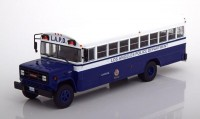 "1:43 автобус GMC 6000 ""Los Angeles Police Department"" (Полиция Лос-Анжелеса) 1988 Blue/White"