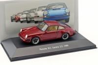 1:43 PORSCHE 911 Carrera 3.2 (930) 1984 Burgundy