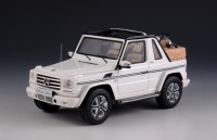1:43 MERCEDES-BENZ G500 Cabriolet Final Edition 4х4 (W463) (открытый) 2014 White