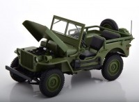 1:18 JEEP Willis 4x4 1942 Green
