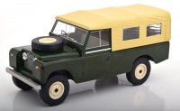 1:18 LAND ROVER 109 Series II Pick Up 4x4 (с тентом) 1959 Dark Green/Creme