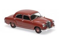1:43 Mercedes-Benz 180 (W120) (dark red)