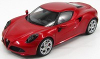 1:18 Alfa Romeo 4C 2013 (red)