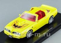 1:43 Pontiac Firebird Trans Am 1977 (yellow)