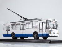 1:43 Троллейбус Skoda-14TR Ростов-на-Дону, белый / синий