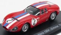 1:43 MASERATI Tipo 151/3 #2 24h Le Mans A.Simon/M.Trintignant 1964