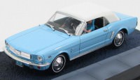 "1:43 FORD Mustang Convertible ""Thunderball"" 1965 Light Blue"