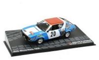 1:43 RENAULT 17 Gordini #20 J-F.Piot/J.De Alexandris 5 место Rally Monte-Carlo 1975