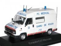 "1:43 CITROEN C25 Heuliez ""SAMU 76 PC Medical Ambulance"" (скорая медицинская помощь) 1984"