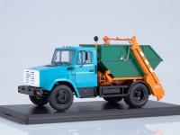 1:43 Контейнерный мусоровоз КО-450