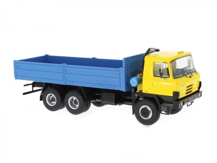 1:43 Tatra 815 V26.208 6х6 бортовой грузовик 1994 Yellow/Blue