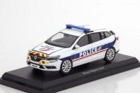 "1:43 RENAULT Megane Estate ""Police Nationale"" (полиция Франция) 2016 Red/Yellow Stripping"