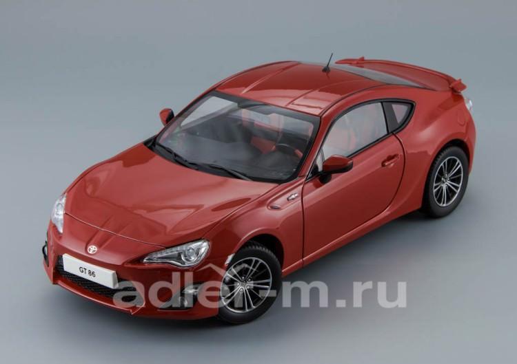 1:18 Toyota GT86 2012 (lightning red)