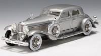 1:43 Duesenberg SJ Rollston Arlington Torpedo Sedan 1933 (silver)
