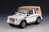 1:43 MERCEDES-BENZ G500 Cabriolet Final Edition 4х4 (W463) (закрытый) 2014 White