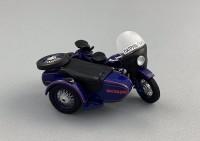 """1:43 Мотоцикл К-750 1960 г. """"ГАИ"""""""