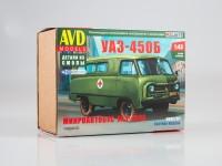 1:43 Сборная модель УАЗ-450Б