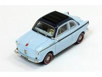 1:43 NSU-FIAT Weinsberg 500 1960 Light Blue/Blue