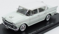 1:43 RAMBLER Customs 6 Sedan 1958 Light Turquois/White