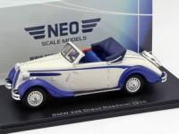 1:43 BMW 326 Drauz Roadster 1938 Blue/White