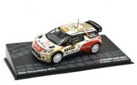 1:43 CITROEN DS3 WRC #3 Sordo/Del Barrio победитель Rally Deutschland 2013