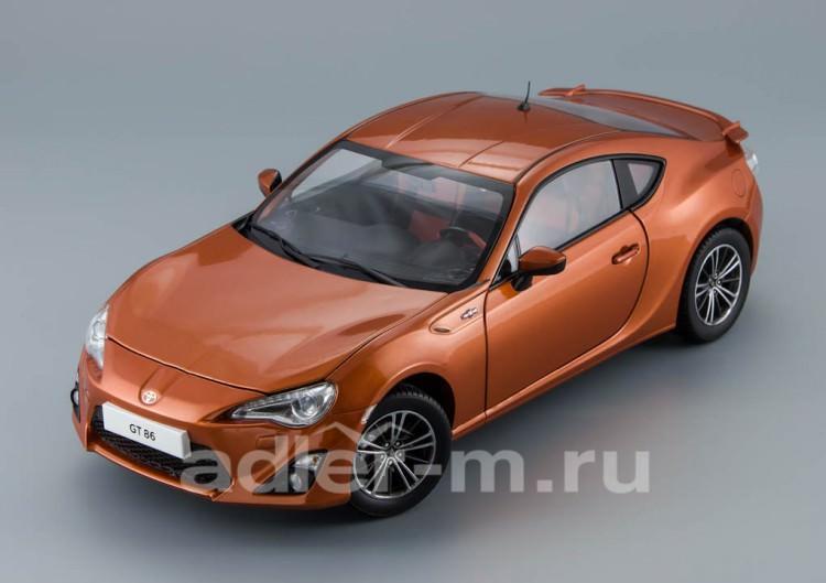 1:18 Toyota GT86 2012 (orange metallic)