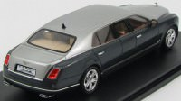 1:43 Bentley Mulsanne Limousine by Duchatelet 2012 (silver / grey)