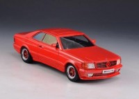 1:43 MERCEDES-BENZ AMG C126 6.0 (W126) 1984 Red