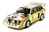 "1:18 AUDI Sport Quattro S1 E2 #6 ""HB Audi Team"" Mikkola/Hertz Rally Monte Carlo 1986"