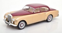 1:18 ROLLS ROYCE Silver Cloud III Flying Spur H.J.Mulliner 1965 Metallic Red/Beige