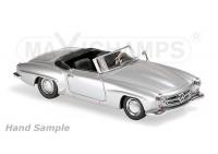 1:43 Mercedes-Benz 190 SL (W121) 1955 (silver)