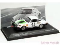 1:43 PORSCHE 911T #43 Gaban-Vanderschrick LE MANS 1968