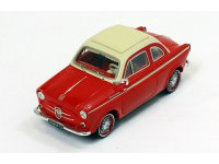 1:43 NSU-FIAT Weinsberg 500 1960 Red/White