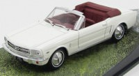"1:43 FORD Mustang Convertible ""Goldfinger"" 1964 White"