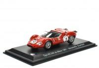 1:43 MASERATI Tipo 63 #9 24h Le Mans Vaccarella/Scarfiotti 1961