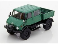 1:43 MERCEDES-BENZ Unimog U416 Double Cabin 4x4 1977 Green