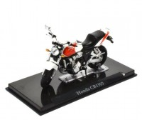 1:24 мотоцикл HONDA CB1300 Red/Silver