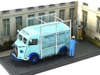 1:43 CITROEN Type H vitrier (стекловоз)1966 Light Blue