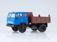 1:43 КАЗ-ММЗ-4502 самосвал синий/коричневый