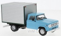 1:43 DODGE D-400 Box Van (фургон) 1971 Light Blue/Grey