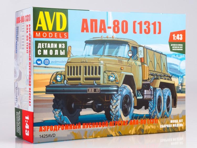 1:43 Сборная модель Аэродромный пусковой агрегат АПА-80 (131)