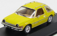 1:43 AMC PACER X 1975 Yellow